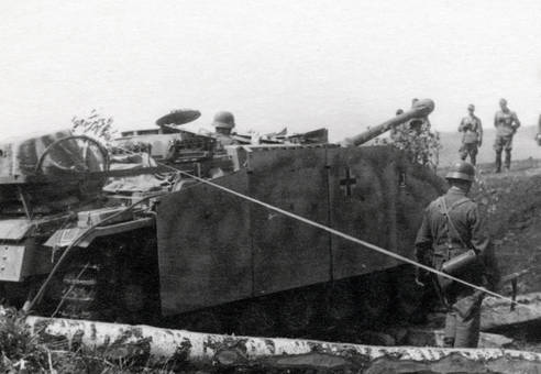 Nah am Panzer