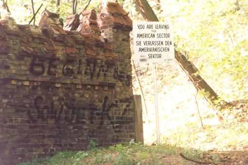 1985 Griebnitzse | DDR-Grenze