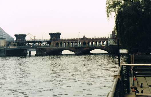 Grenzübergang Oberbaumbrücke
