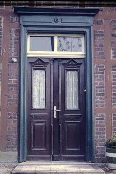 Haustür eines Bauernhauses