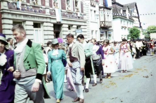 Festzug an Karneval