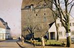 Personen bei der Burg
