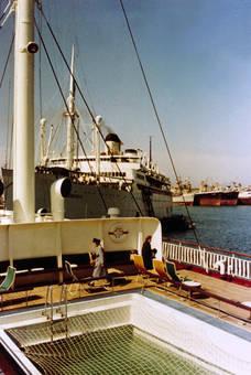 Zwischen Schiffen
