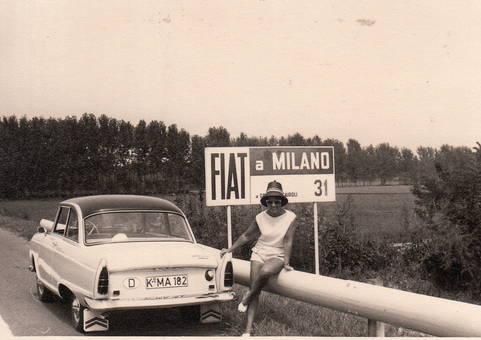 Kurz vor Mailand