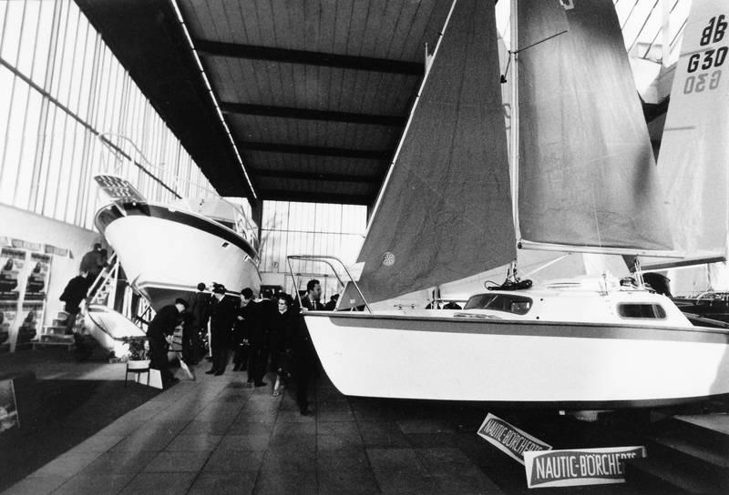 ausstellung, boot, bootsausstellung, Messe, Nautic Boercherts, Segelboot, veranstaltung