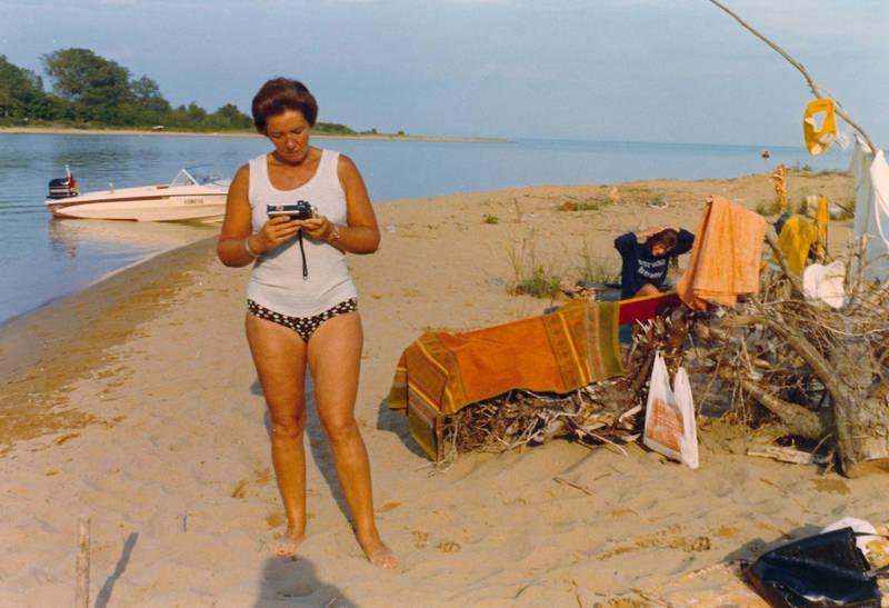 bademode, boot, motorboot, reise, sand, Sommer, Sonne, tuch, urlaub, Urlaubsreise