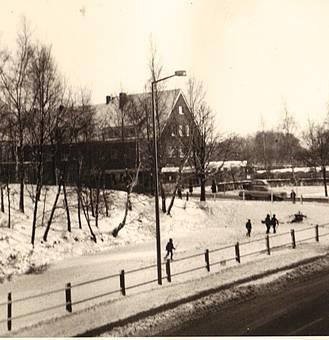Eiszeit am Stadtgraben