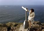 Windige Aussicht