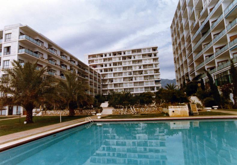 andalusien, costa del sol, gebäude, Hotel, Hotelanlage, marbella, pool, reise, Schwimmbecken, Spanien, südspanien, swimming pool, urlaub, Urlaubsreise, Wasserbecken