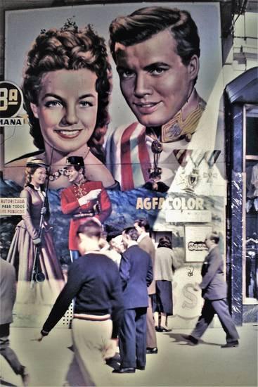 1950er, film, Kino, Madrid, spanienreise