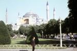 Moschee und Park