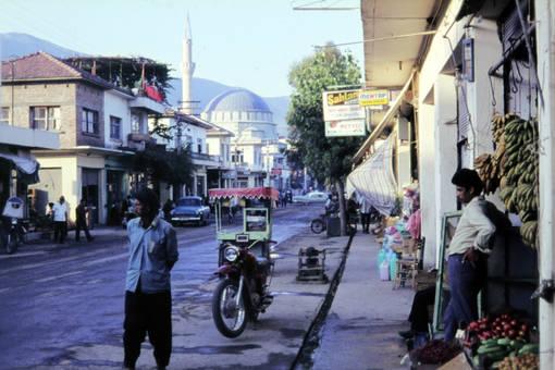 Straße in Antalya