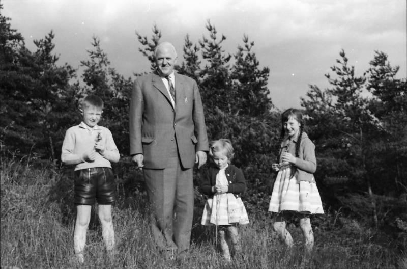 ausflug, familie, Großvater, Kindheit, lederhose, mode, Opa, spaziergang