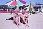 Zu zweit am Strand