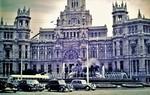 Plaza Cibeles in Madrid 1956