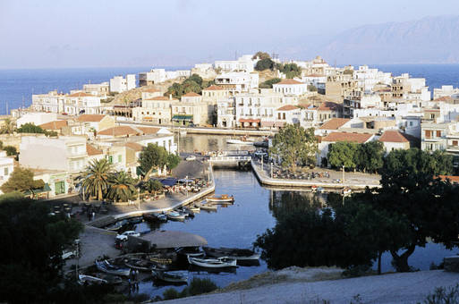 Ausblick in Kreta