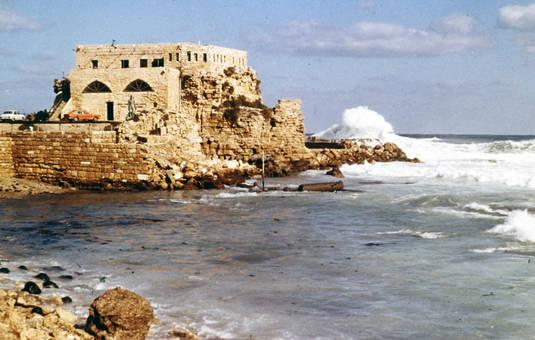 Festung am Meer
