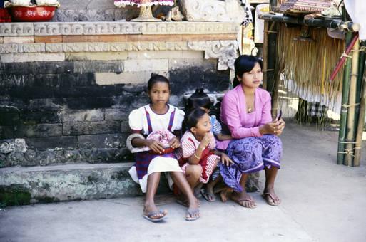 Kinder in Indonesien