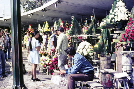 Blumenverkauf