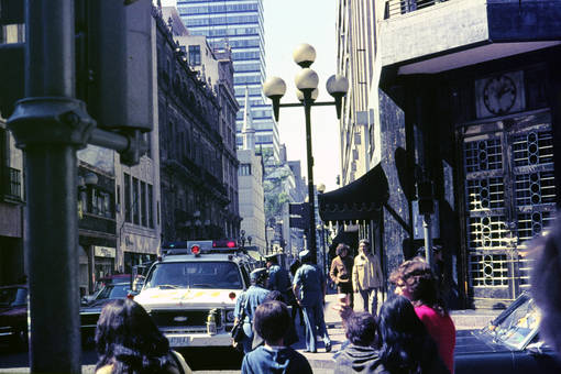 Straße in Mexiko-Stadt