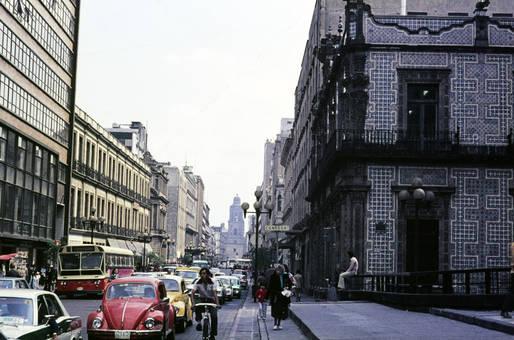 Verkehr in der Großstadt