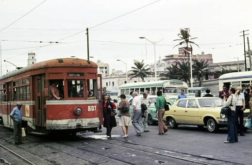Straßenverkehr in Mexiko