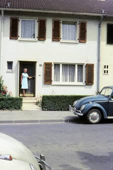 Vor der Haustür