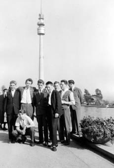 Vor dem Florianturm