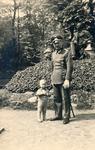 Soldat und Kind