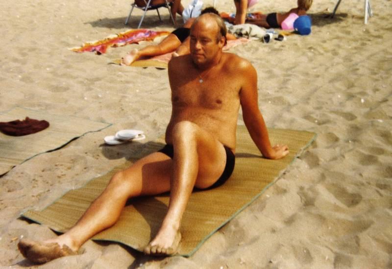 Italien, Sonnenbad, strand, Strandmatte, urlaub