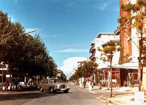 Straße in Italien