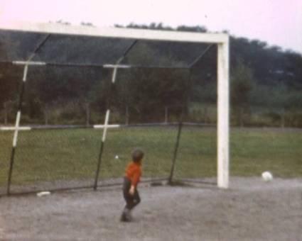 Auf dem Fußballplatz