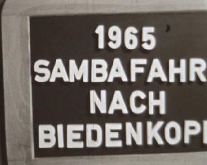 Sambafahrt nach Biedenkopf
