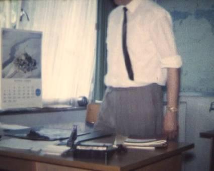 PAN AM Büro Flughafen Wahn 68