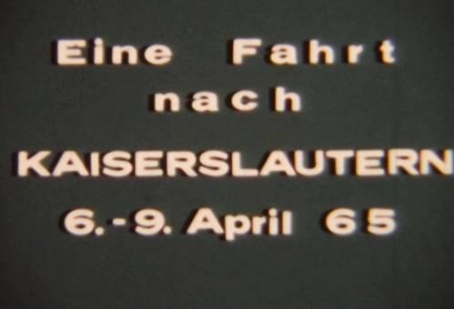 Fahrt nach Kaiserslautern