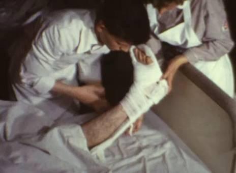 Versorgung am Krankenbett