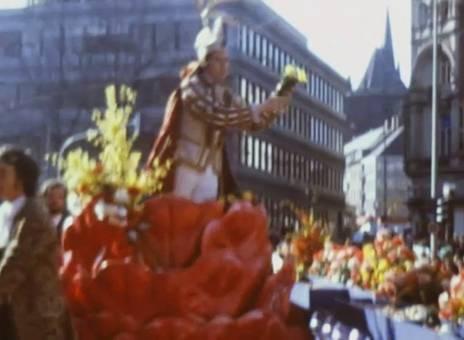 Rosenmontagzug 1973 in Aachen