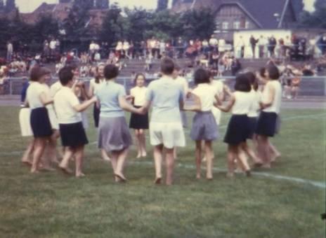 Choreografie beim Sportfest