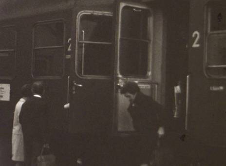 Zug der Deutschen Bundesbahn