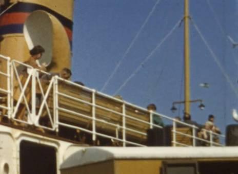 Schiff nach Juist