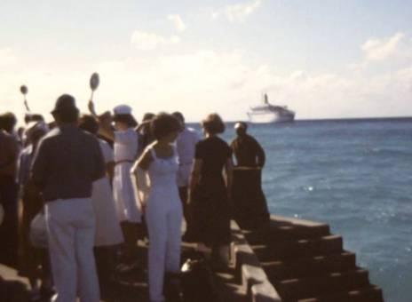 Schwimmen in der Karibik