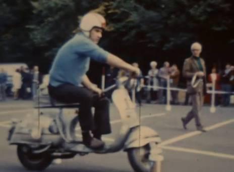 Vespatreffen in Köln 1971 - 01