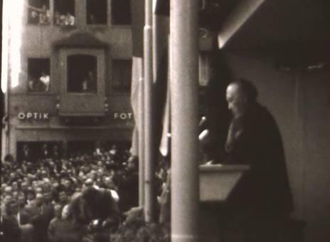 Adenauer in Siegen