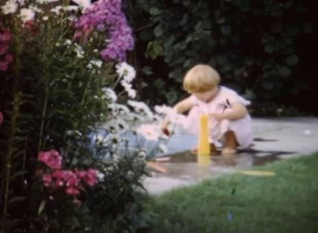 Tralala im Garten