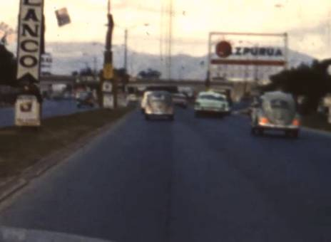 Fahrt durch Caracas