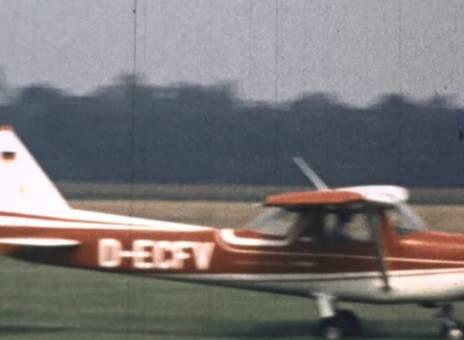 Segel- und Propellerflugzeuge