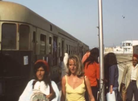 Bahnfahrt in Tunesien