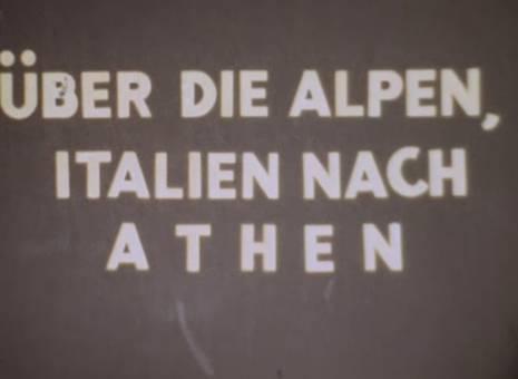 Reise nach Athen