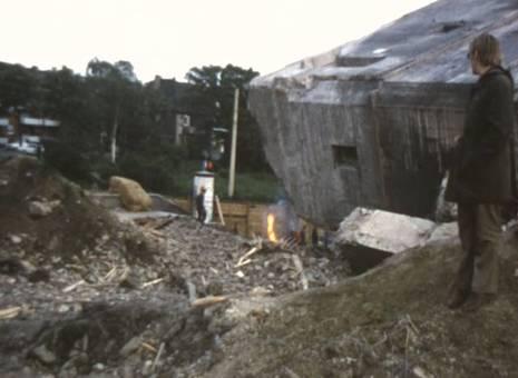 Bunkersprengung