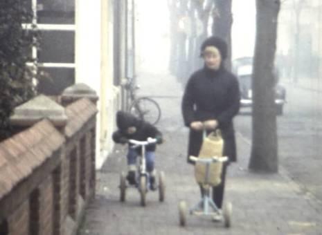Unterwegs mit dem Dreirad